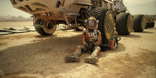 Matt Damon es el astronauta Mark Watney en el filme 'Marte. The martian'. / FOX